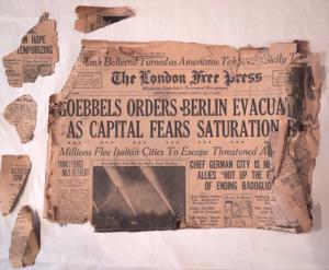 London Free Press -  1943