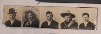Old photo booth pictures