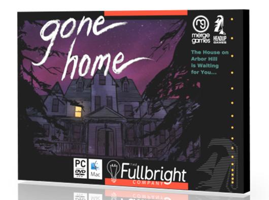 Gone Home box exterior